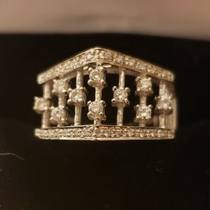 18kt gold and diamonds ring